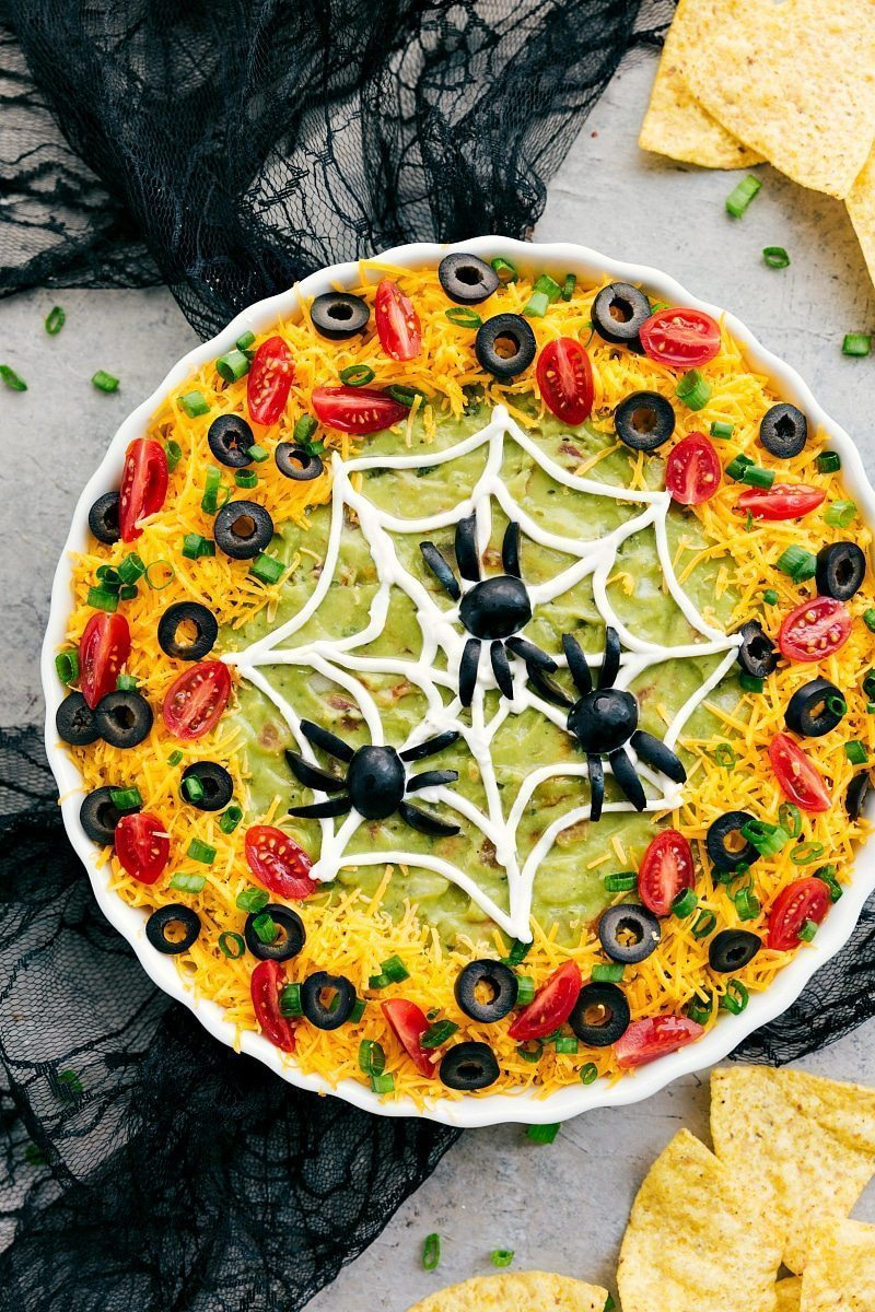 7-Layer Spider Web Dip