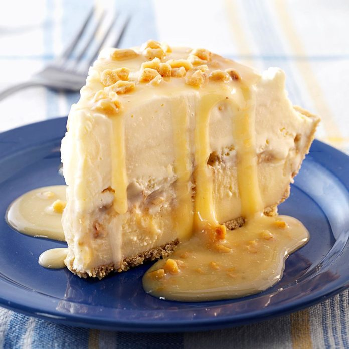 Butter Brickle Ice Cream Pie