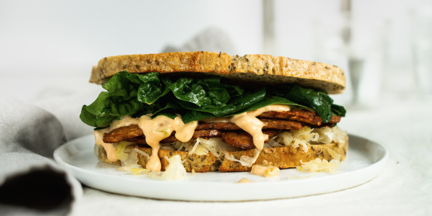 Rockin' Reuben on Rye — Plant-Strong by Engine 2