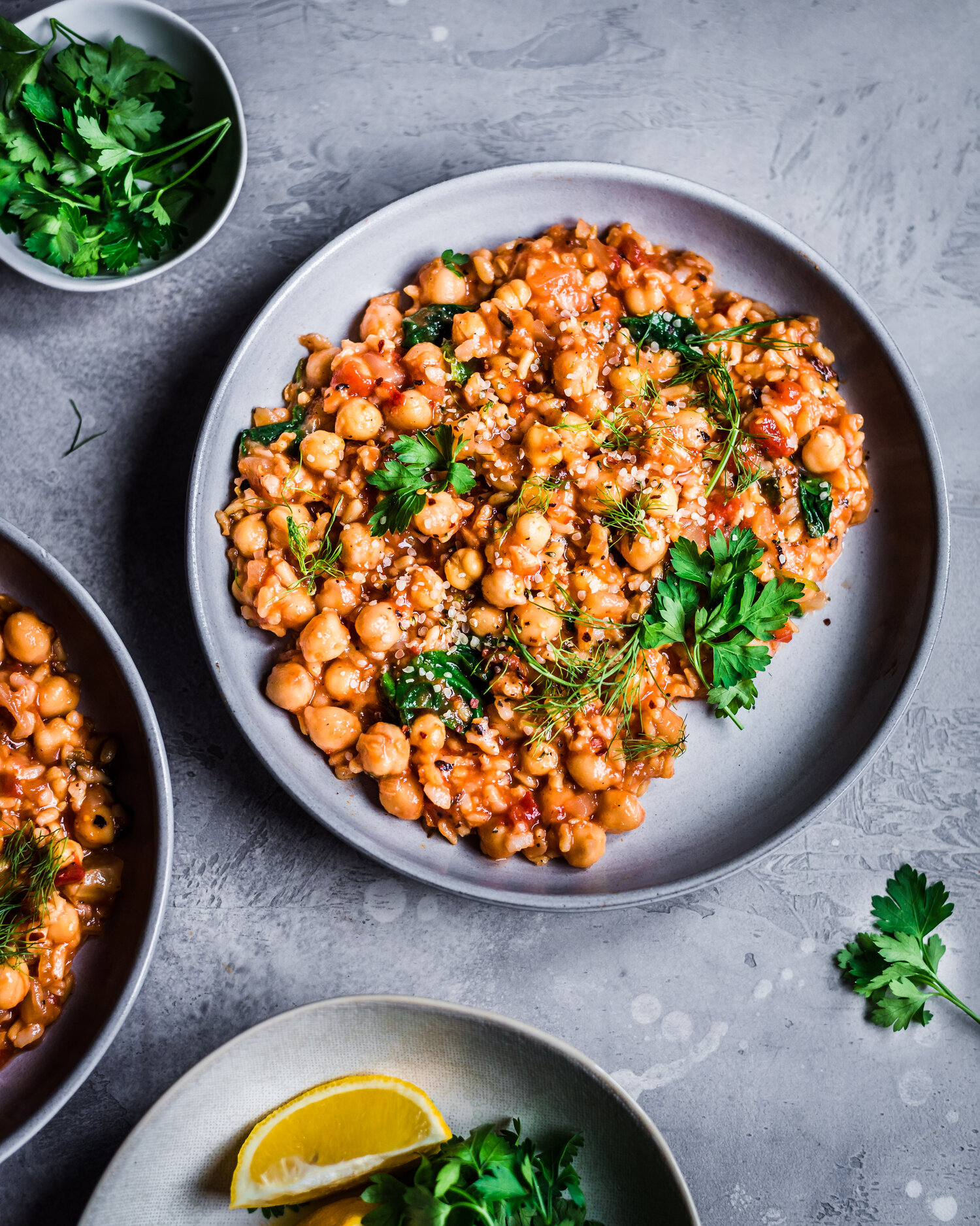 Fennel, Chickpea Video and Brown Rice Stew  — Rainbow Plant Life