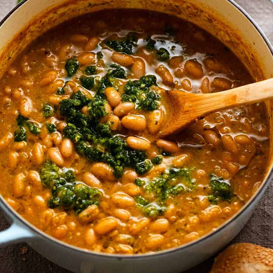 Simple Bean Soup from El Bulli (world's all time greatest restaurant!)